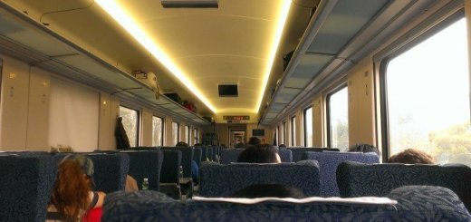 Nice new interior on the mainland operated trains