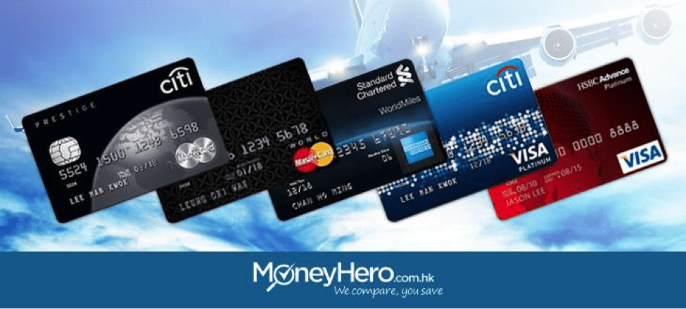 Top 5 Air Miles Credit Cards in HK