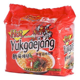 三養 - 辣香菇味拉麵
