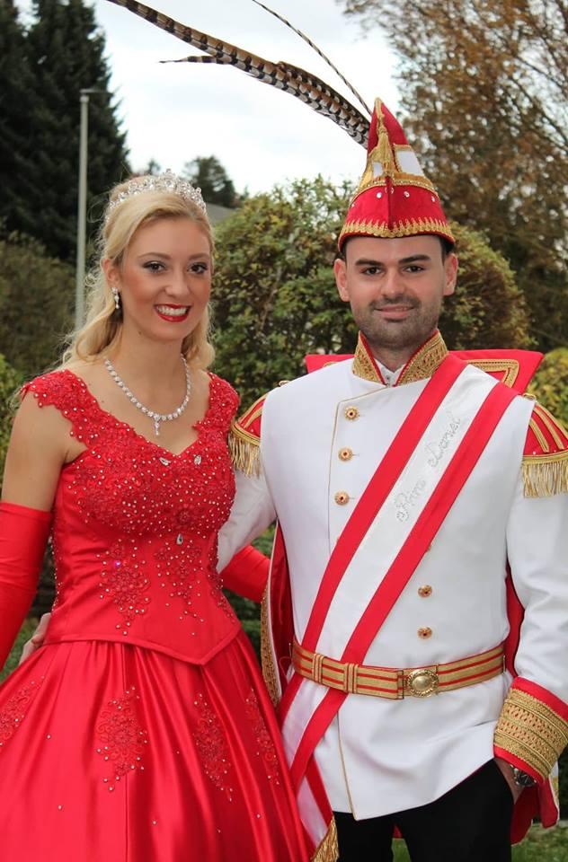 Prinzessin Lisa I. und Prinz Daniel I. von der Pferderanch