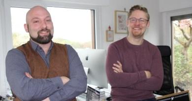 Dominik Kollang und Daniel Feder sind die Köpfe hinter Studio Halvar.