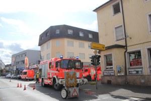 Großübung Feuerwehr Elz Hotel Schäfer