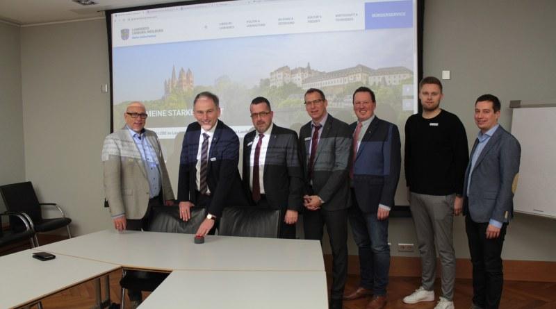 Webseite Landkreis Limburg-Weilburg