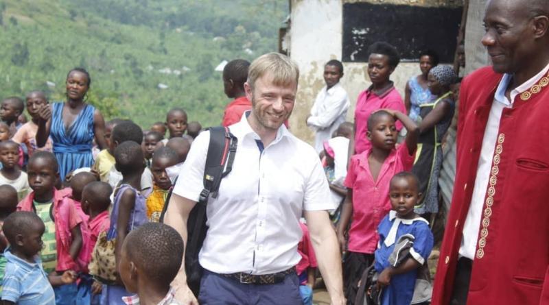 Reiner Schmidt in Uganda