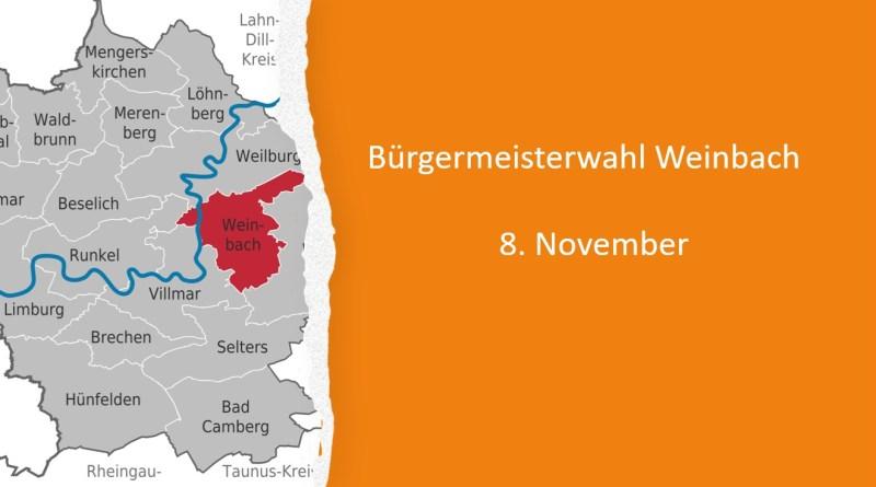 Bürgermeisterwahl Weinbach