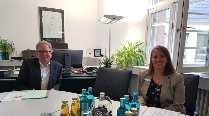 Jörg Sauer und Verena Nijssen