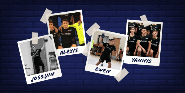 4 joueurs de l'ESMH intègrent l'effectif seniors !