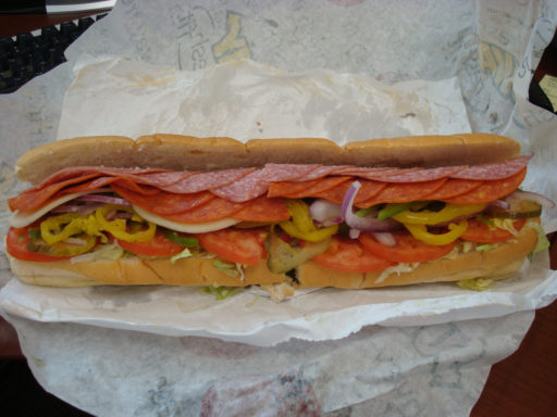 subway footlong sandwich marketing