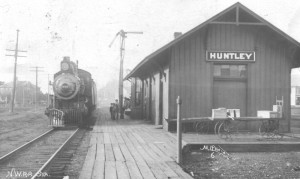 Huntley History at Illinois Digital Archives - Huntley Train Depot
