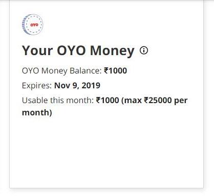oyo money