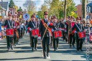 Brandweerharmonie Bilthoven Koningsdag Hessenweg De Bilt