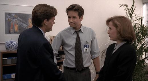 Mulder and Colton meet, Scully already has a headache