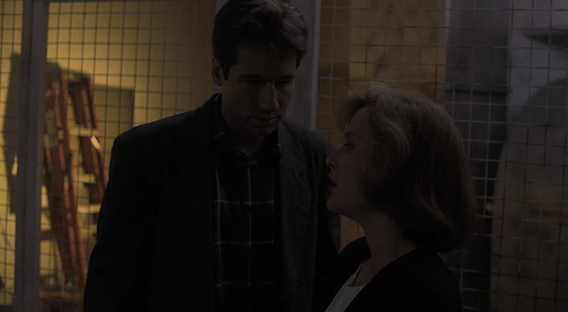 Mulder telling Scully she was right