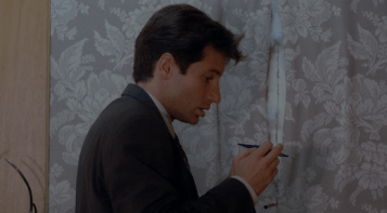 Mulder is astonished to find evidence revealed by Graves' ghost.