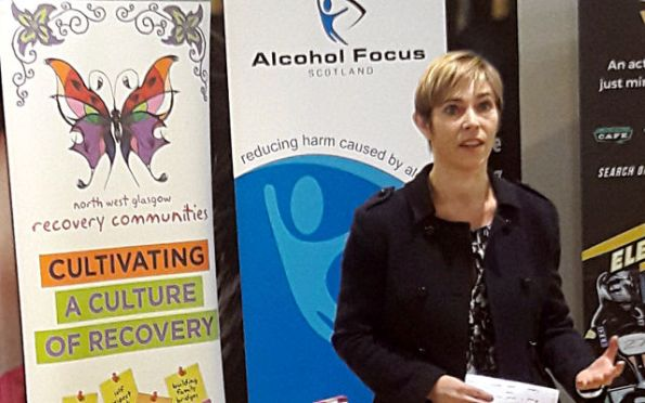 Alison Douglas, Chief Exec of Alcohol Focus Scotland