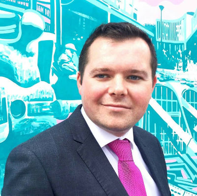 Joe Fagan, Leader of South Lanarkshire Labour Group