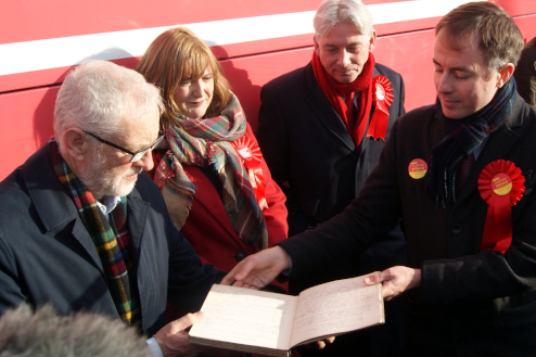 Jeremy was delughted to be shown the minutes of the meeting that created Hamilton, Larkhall & Stonehouse CLP 101 years ago.