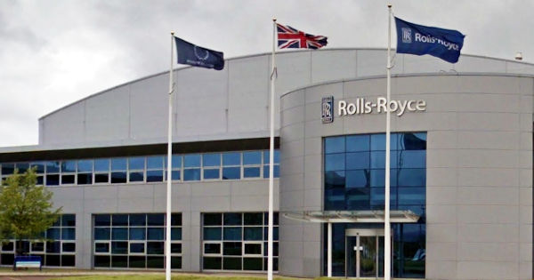 Rolls Royce plant at Inchinnan