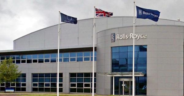 Rolls Royce plant at Inchinnan