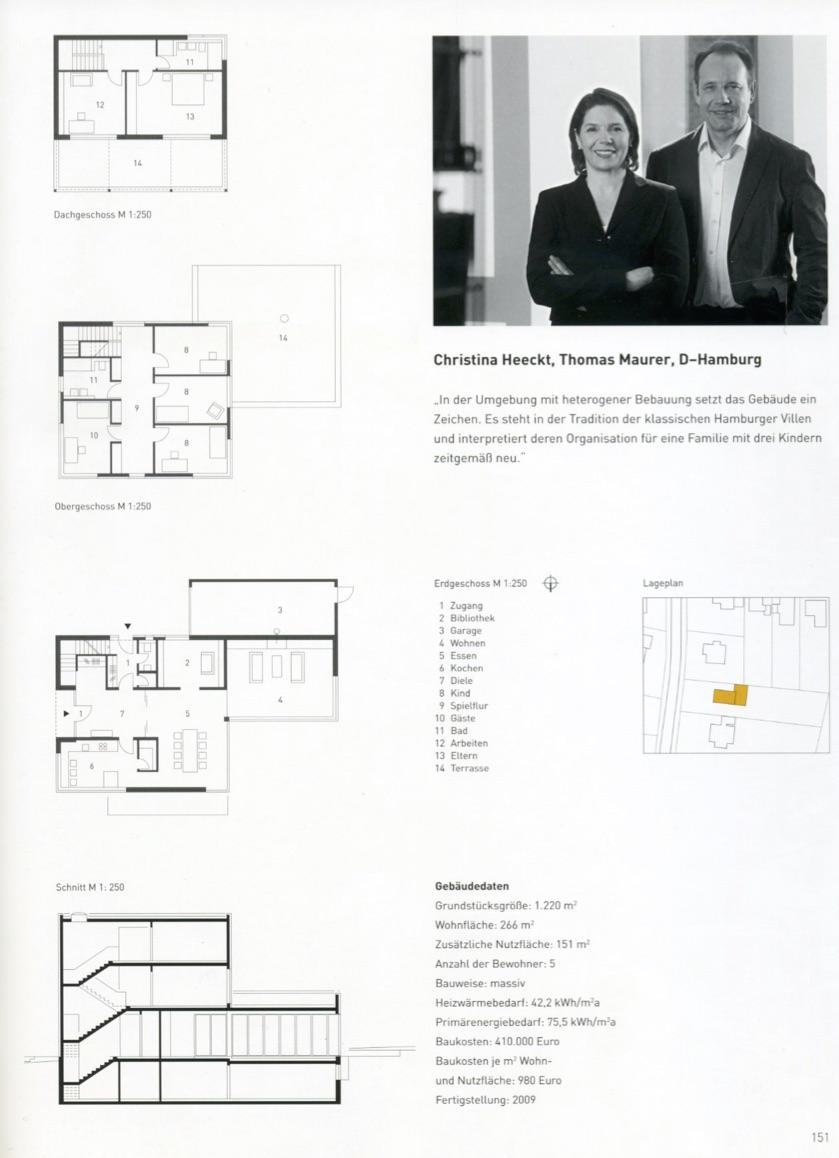 Häuser Des Jahres 2012   Hma - Hmarchitekten Hamburg
