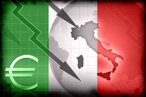 Euro and Italy down