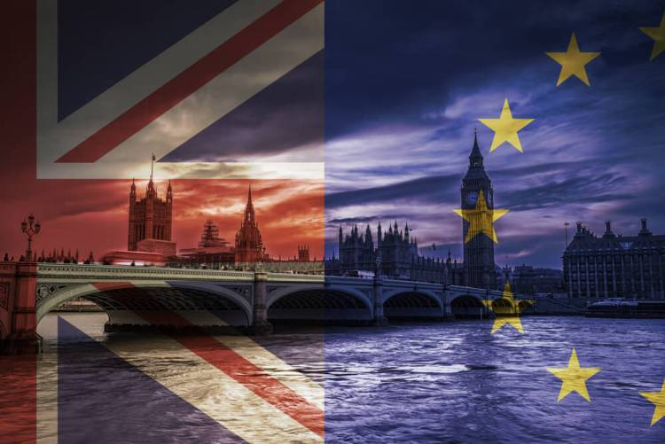 Brexit Parliament dark clouds