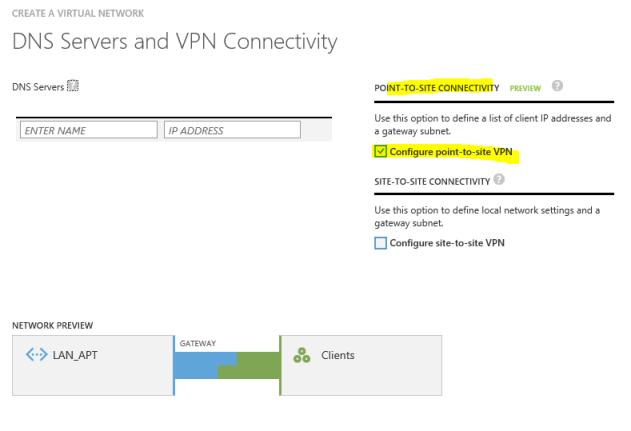 Creando la VPN - DNS