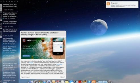 Newsbar for Mac OS