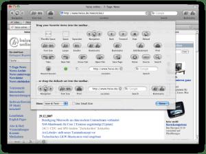 iCab custom settings