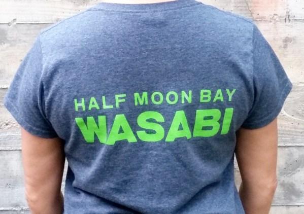 Half Moon Bay Wasabi Company Logo Tee