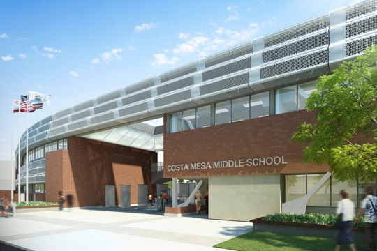 Costa Mesa Middle School Enclave  On the Boards PreK12