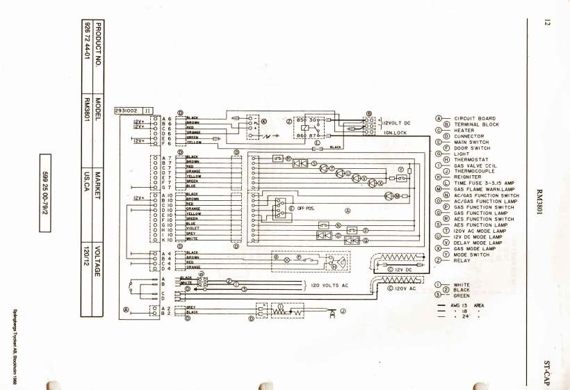 Miraculous Dometic 3 Way Refrigerator Parts Kayamotor Co Wiring Digital Resources Jonipongeslowmaporg