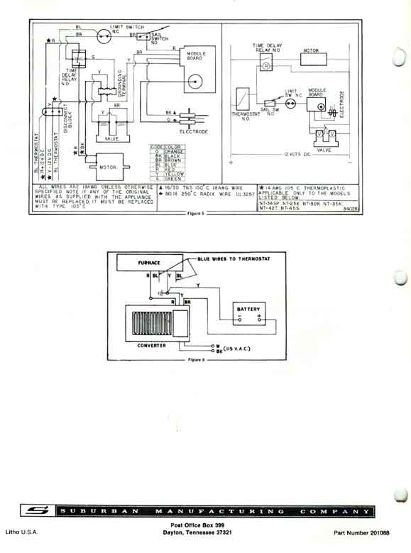 wiring diagram for furnace gas valve