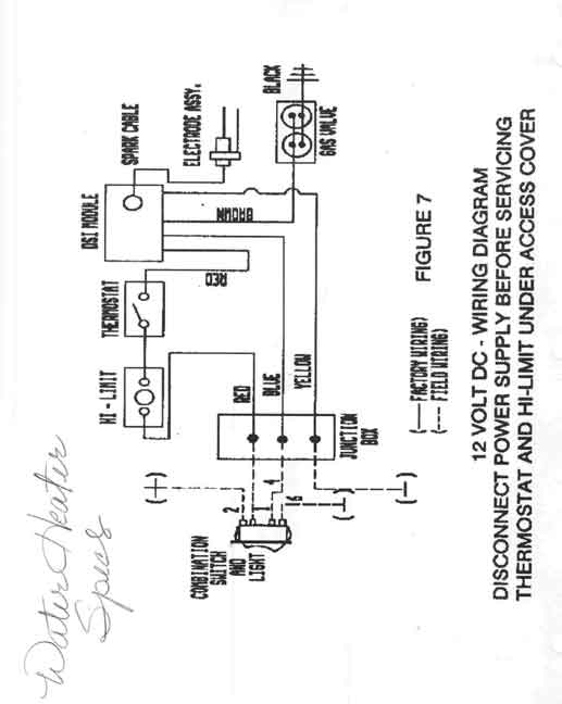 wiring diagram for suburban rv water heater  u2013 powerking co