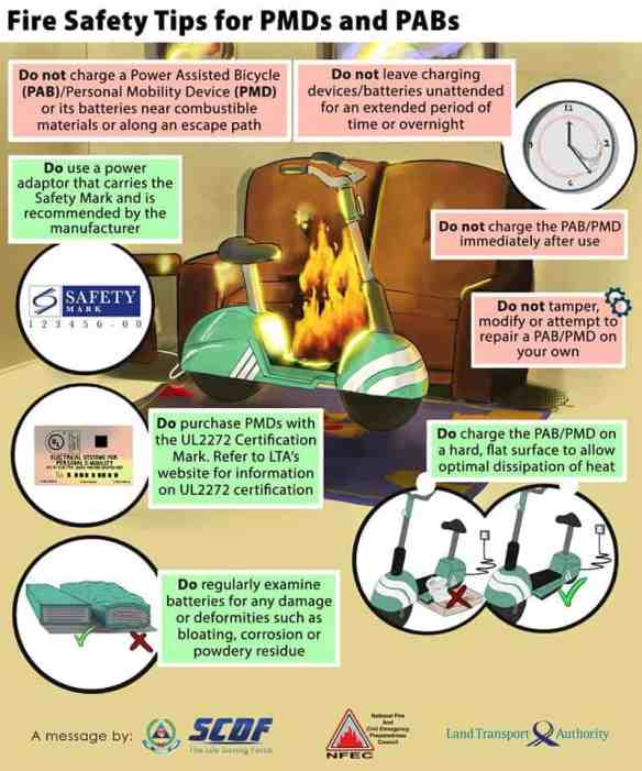 Fire Safety Tips for PMD PMA PAB