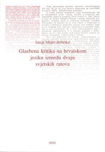 majer-bobetko_glazbena-kritika-na-hrvatskom-jeziku-izmedu-dvaju-svjetskih-ratova