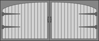 Carriage House 4050 Series Garage Door
