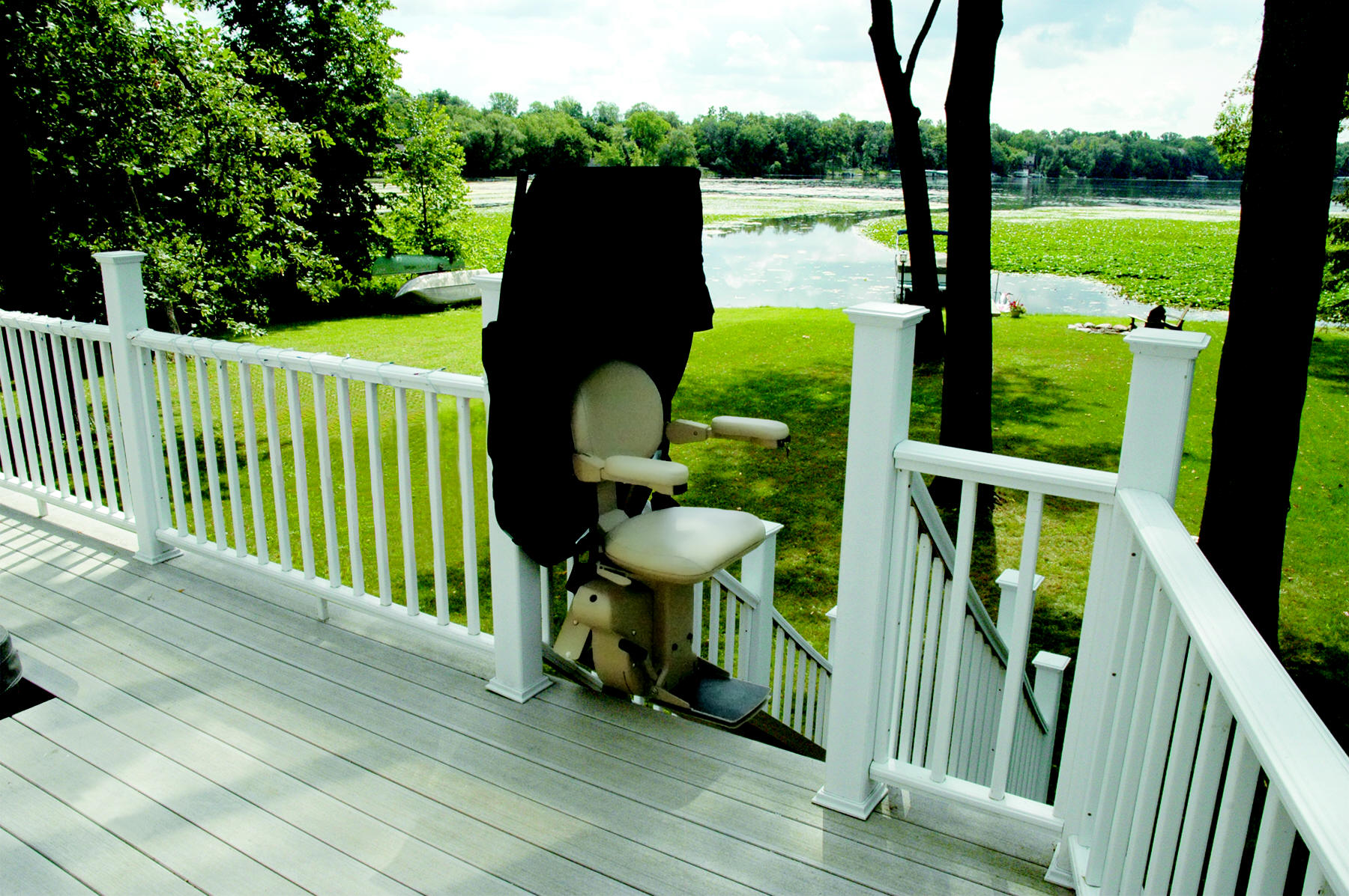 Outdoor Chair Lifts Electra Ride Elite Outdoor Straight Stair Lift Vancouver Stairlifts