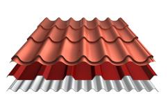 Metalen profielplaten van staal en aluminium zoals dakpanplaten, damwandplaten en golfplaten