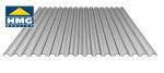 polycarbonaat golf- en damwandplaat zilvergrijs