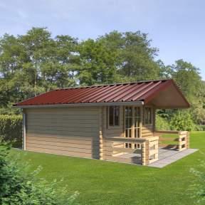 trapezbleche-351035-gartenhaus-rot