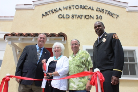Old Fire Station #30 Opened in Artesia