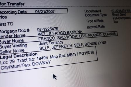Los Cerritos Community Newspaper is publishing several documents that questions the legal residence of Downey City Council candidate Salvador Franco a former member of the Bell Gardens City Council.
