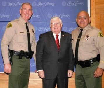 Cerritos Sheriff's Captain Retires