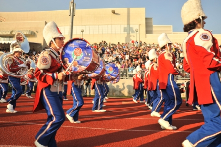 Marching Bands Get Ready for Pasadena!