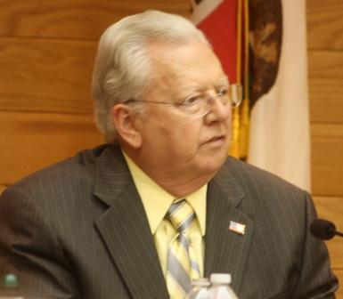 Cerritos City Council candidate George Ray during a recent forum.