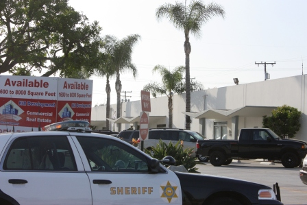 Sheriff's were seen at BPG Performance in Cerritos on Friday afternoon in a raid targeting illegal nitrous oxide sales.