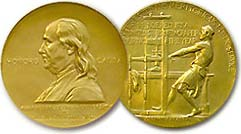 East coast daily newspapers dominate 2013 Pulitzer Prize list of winners.