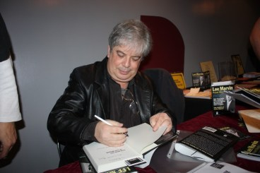 Author Dwayne Epstein during a recent book signing of his new book on the life of actor Lee Marvin.  Randy Economy Photo