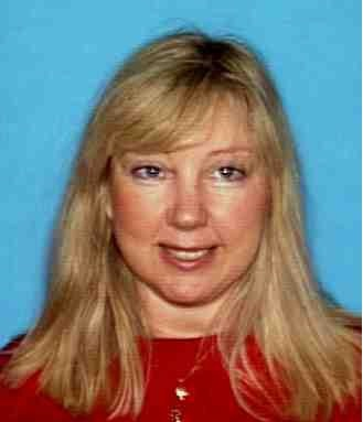 "Missing Cerritos woman is  MARY KAY BERNAT, 53 who is 5' 05"", 180 lbs., Blond hair, blue eyes. Last seen wearing blue stretch pants."